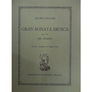 SUVINI ZERBONI - M.Giuliani Gran Sonata Eroica Op.150 Per Chitarra