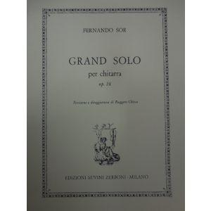 SUVINI ZERBONI - F.sor Grand Solo Per Chitarra Op.14