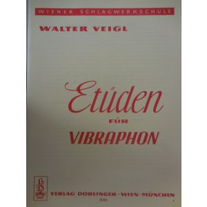 EDIZIONI MUSICALI RIUNITE - W.Veigl Etuden Fur Vibraphon