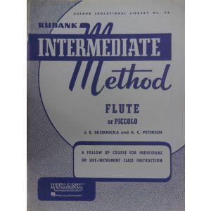 EDIZIONI MUSICALI RIUNITE - Skornicka ,petersen Intermediate Method Flute Or P
