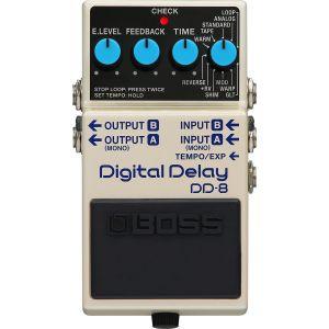 BOSS - DD-8 Effetto Delay Digitale a Pedale Con Looper Per Chitarra
