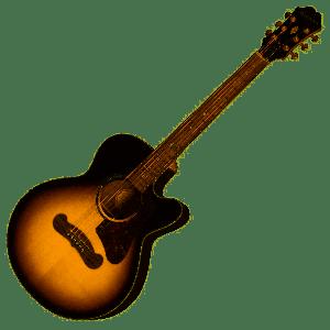 EPIPHONE - Ej-200 Coupe vintage sunburst chitarra acustica elettrificata