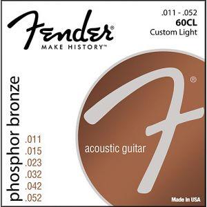FENDER - 60cl Corde Per Chitarra Acustica 11-052