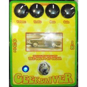 GEEK Mc DADDY - Geek Driver overdrive USATO effetto a pedale per chitarra elettrica