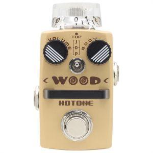 HOTONE - Sac 1 Wood - Simulatore Di Chitarra Acustica effetto a pedale per chitarra elettrica