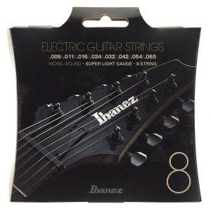 IBANEZ - Iegs8 9/65 corde Per Chitarra Elettrica 8 Corde Nickel Wound Super Light