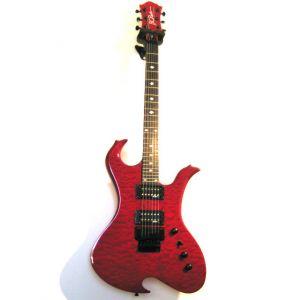 B.C.RICH - Wawe Guitar Neck Thru Series F/rose 504399 Chitarra elettrica