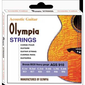 OLYMPIA STRINGS - Ags 910 Acoustic Gtr String 013-056