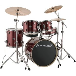 LUDWIG - Lcee200-25 Element Evolution Red Wine Sparkle batteria acustica