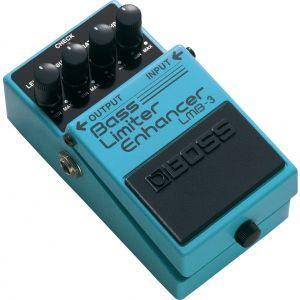 BOSS - LMB-3 Limiter Enhancer effetto a pedale per basso elettrico