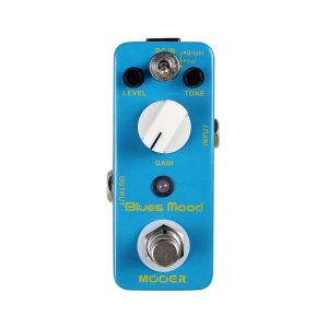 MOOER - Blues Mood Drive Overdrive Analogico effetto a pedale per chitarra elettrica