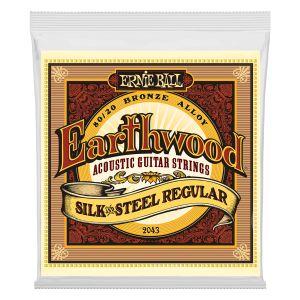 ERNIE BALL - 2043 - Earthwood Silk & Steel 13/56 Regular muta per chitarra acustica