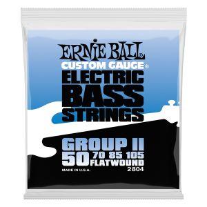 ERNIE BALL - 2804 muta per basso Flatwound 50/105