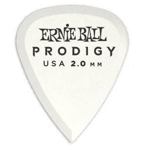 ERNIE BALL - 9202 6 Plettri Prodigy White Standard (1.5mm)