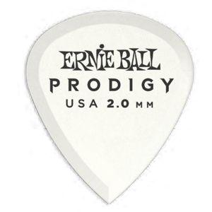 ERNIE BALL - 9203 6 Plettri Prodigy White Mini (1.5mm)