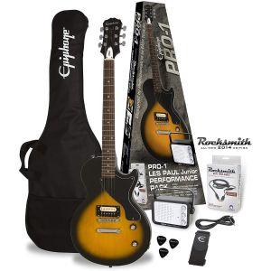 EPIPHONE - Pack Les Paul Junior Pro chitarra elettrica con amplificatore ed accessori