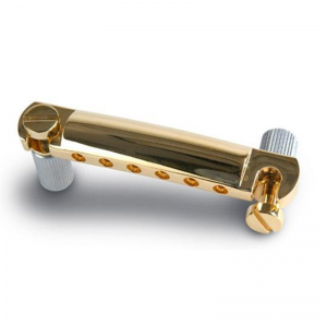GIBSON - PTTP-020 Gold Stop Bar With Studs & Inserts