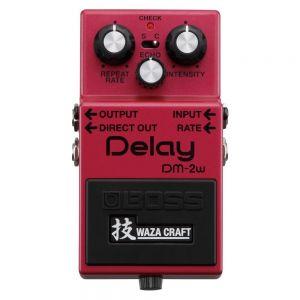 BOSS - Dm-2w Delay Analog Classic Reborn (waza) Effetto a pedale per chitarra elettrica