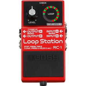 BOSS - Rc-1 Loop Station Effetto a pedale per chitarra elettrica