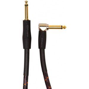 ROLAND - Ric-g20a Gold Series Cavo Audio Con Connettori Dorati Jack 6,3mm - Jack angolato 6,3mm 6 metri