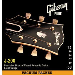 GIBSON - SAG-J200L J200 Phos Bronze Acoustic .012-.053