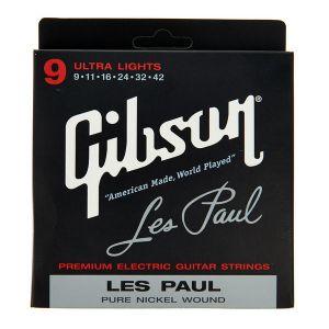 GIBSON - SEG-LP9 09-042 muta di corde per chitarra elettrica