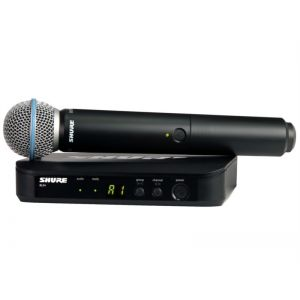 SHURE - Blx24e / Beta58 Sistema microfonico palmare wireless