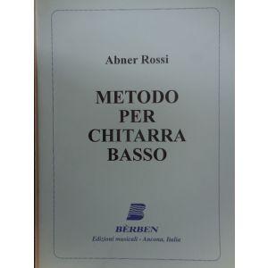 BERBEN - A.Rossi Metodo Per Chitarra Basso