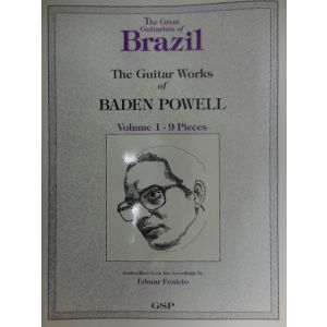 EDIZIONI MUSICALI RIUNITE - B.Powell The Guitar Works Of Abaden Powell Vol.1