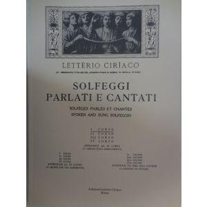 L.CIRIACO - Solfeggi Parlati E Cantati I Corso