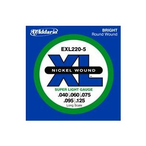 D'ADDARIO - Exl220-5 - Super Light Muta Per Basso 5 Corde