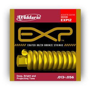 D'ADDARIO - Exp12 Medium Bronze 013/056 muta per chitarra acustica