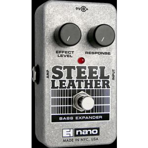 ELECTRO HARMONIX - Steel Leather Attack Expander For Bass Guitar effetto a pedale per basso elettrico