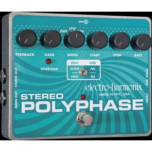 ELECTRO HARMONIX - Stereo Polyphase Analog Optical Envelope/lfo Phase effetto a pedale per chitarra elettrica