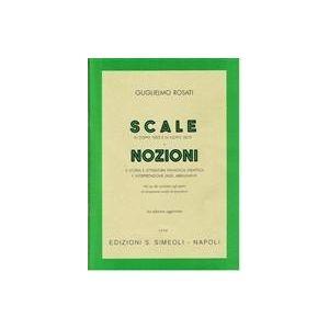SIMEOLI - G.Rosati Scale E Nozioni Per Pianoforte