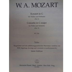 Mozart Concerto In G Major For Violin And Orchestr