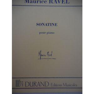 DURAND - M.Ravel Sonatine Per Pianoforte