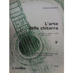 ZANIBON - P.Muggia L'arte Della Chitarra 3 Volume