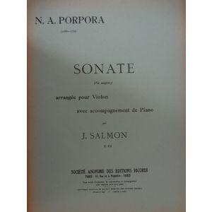 RICORDI - Porpora Sonate (fa Majeur) Violin/piano