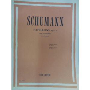 RICORDI - Schumann Papillons Op.2 Per Pianoforte