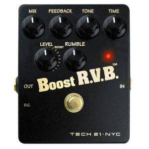 TECH 21 - Boost R.v.b. Analog Reverb Emulator With Clean Boo effetto a pedale per chitarra elettrica