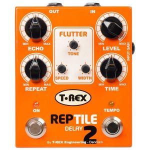 T-REX - Reptile II delay (con Tap/tempo) effetto a pedale per chitarra elettrica