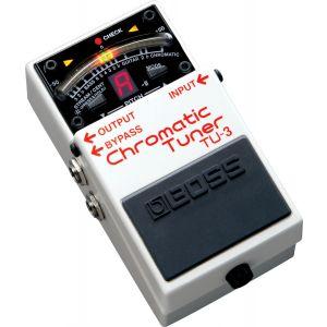 BOSS - Tu-3 Chromatic Tuner Accordatore a pedale per chitarra elettrica