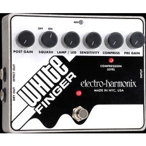 ELECTRO HARMONIX - White Finger Analog Optical Compressor effetto a pedale per chitarra elettrica
